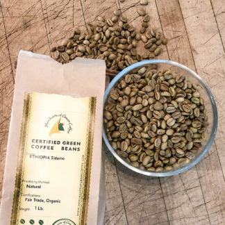 certified green beans from Ethiopia