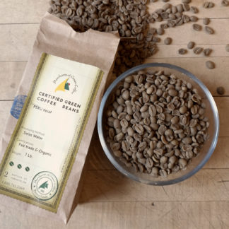 swiss water processed green coffee beans from Peru