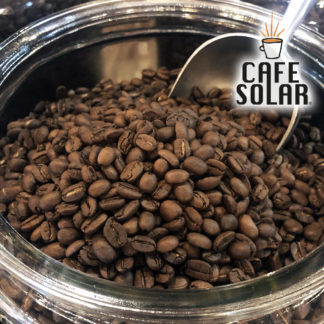 fresh roasted solar-dried coffee