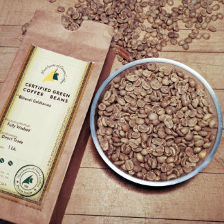 certified Burundi green coffee beans