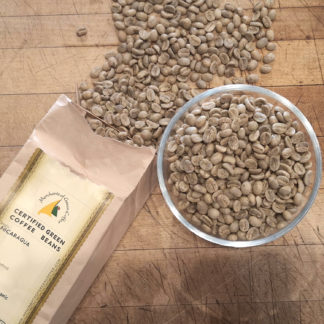green coffee beans from nicaragua