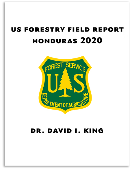US Forestry Services Sustainable Coffee Scientific Field Report March 2020 Honduras