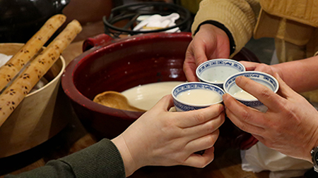 Feature image of traditional Korean Sul beverage.