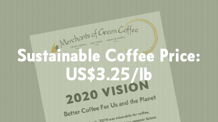 Feature Image showing that the current sustainable coffee price is a minimum of US$3.25/lb.
