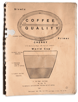 """Image of the book """"Coffee Quality"""" by Michael Sivetz"""