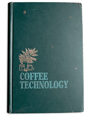 """Image of the hardcover book """"Coffee Technology"""" by Michael Sivetz"""